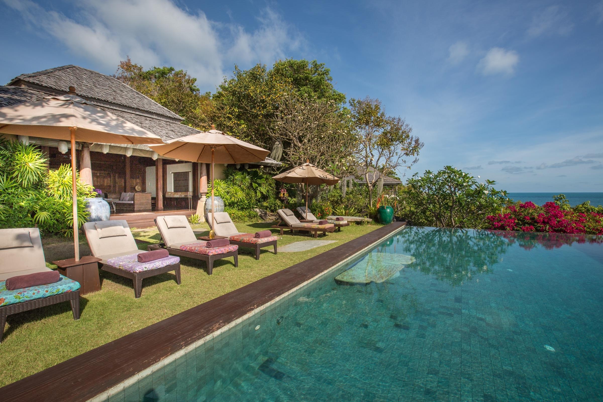 Villa Samudra has a special, authentic design