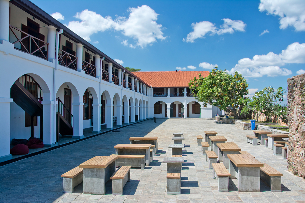 Old Dutch Hospita in Galle