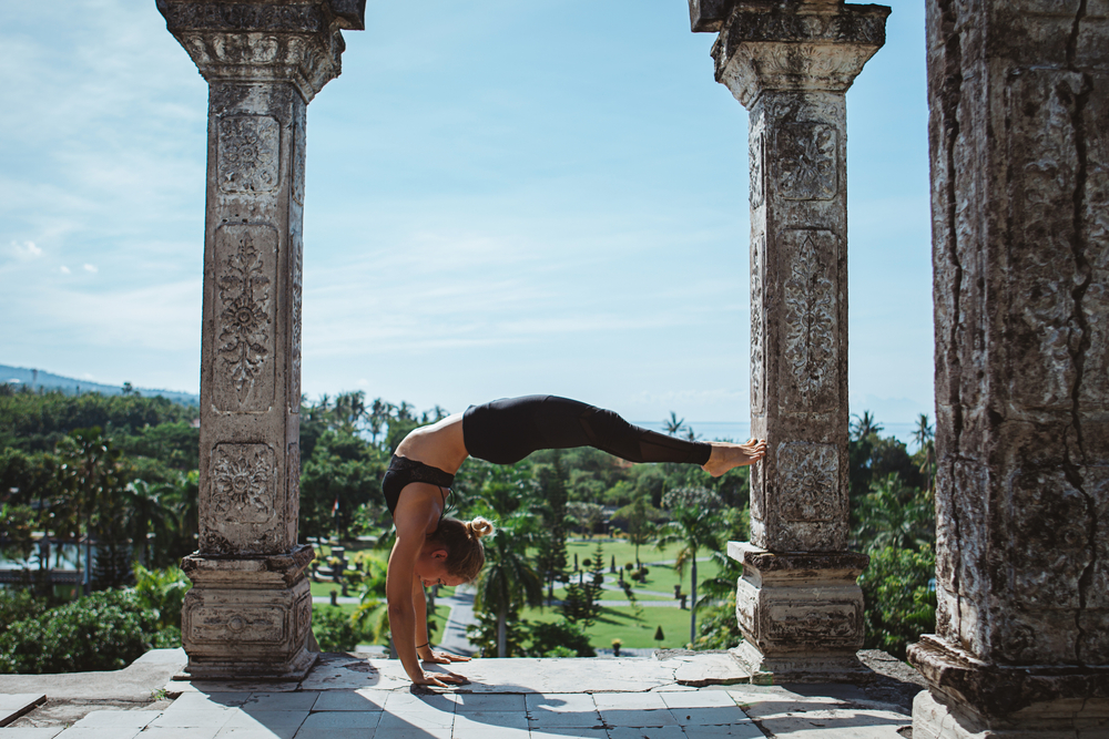 Rainy day in Bali? Then it´s the yoga time!